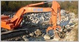 scavi in terra