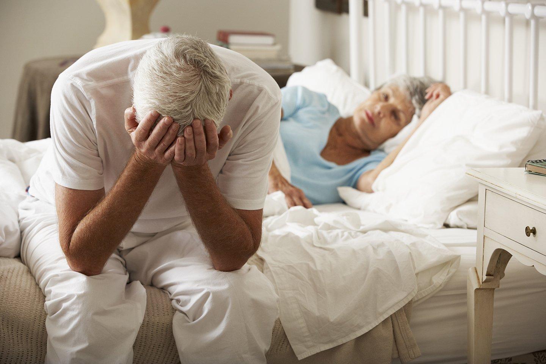 coppia anziana in ospedale