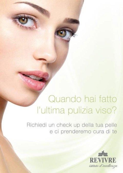 Revivre's Rome facial promotion