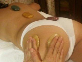 Massaggio aroma stone