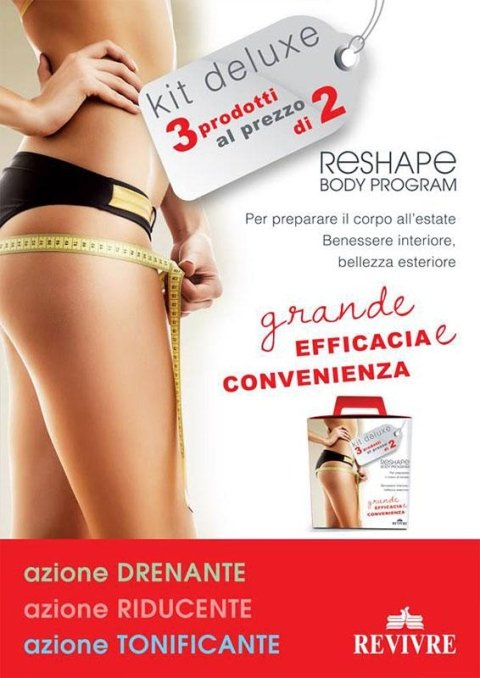 Revivre's Rome body promotion