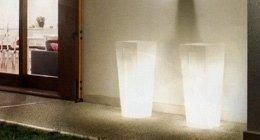 lampadari in vetro, lampade da terra per esterni, luci da giardino