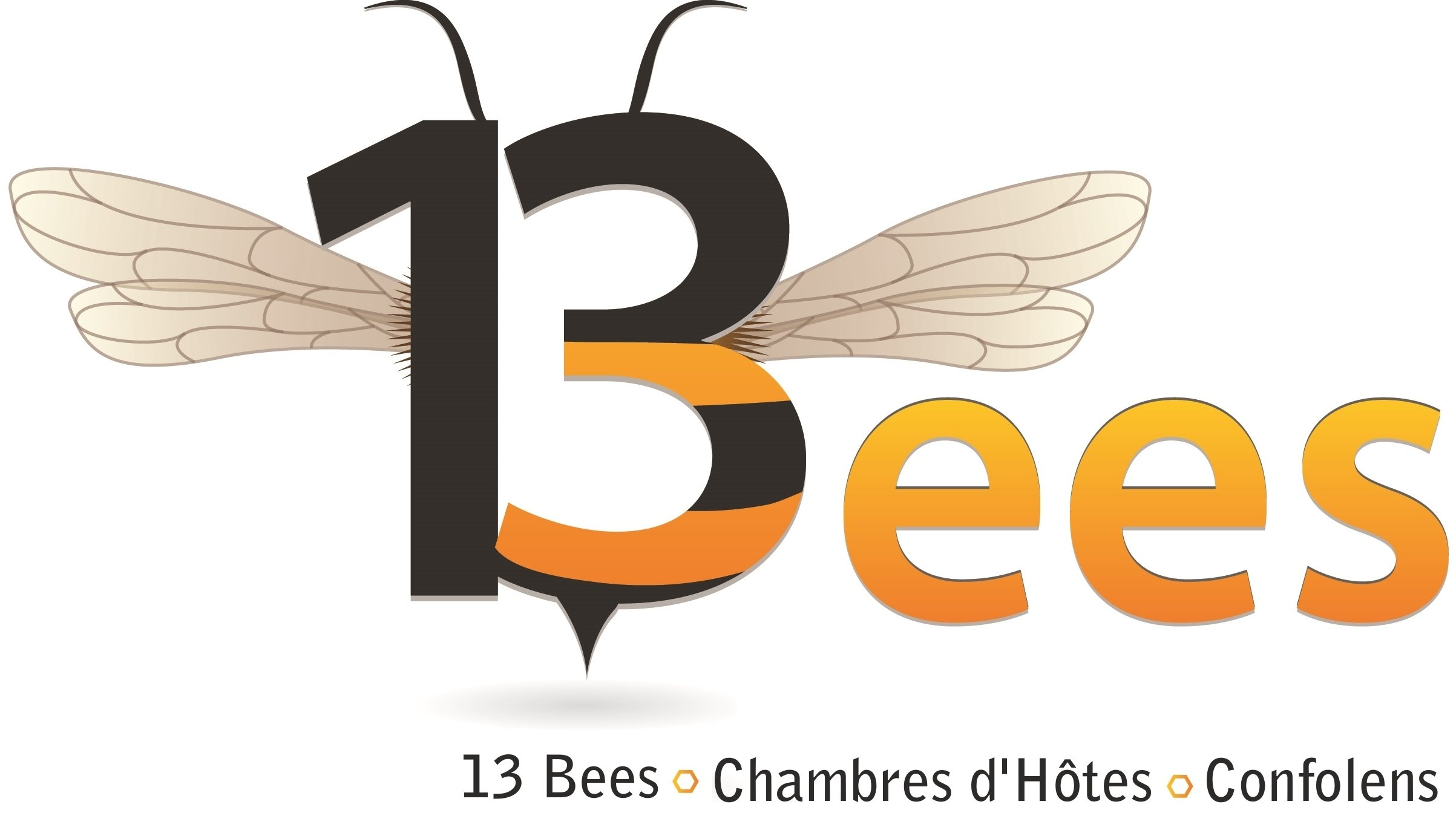 13 Bees beekeeing experiences and bed and breakfast logo