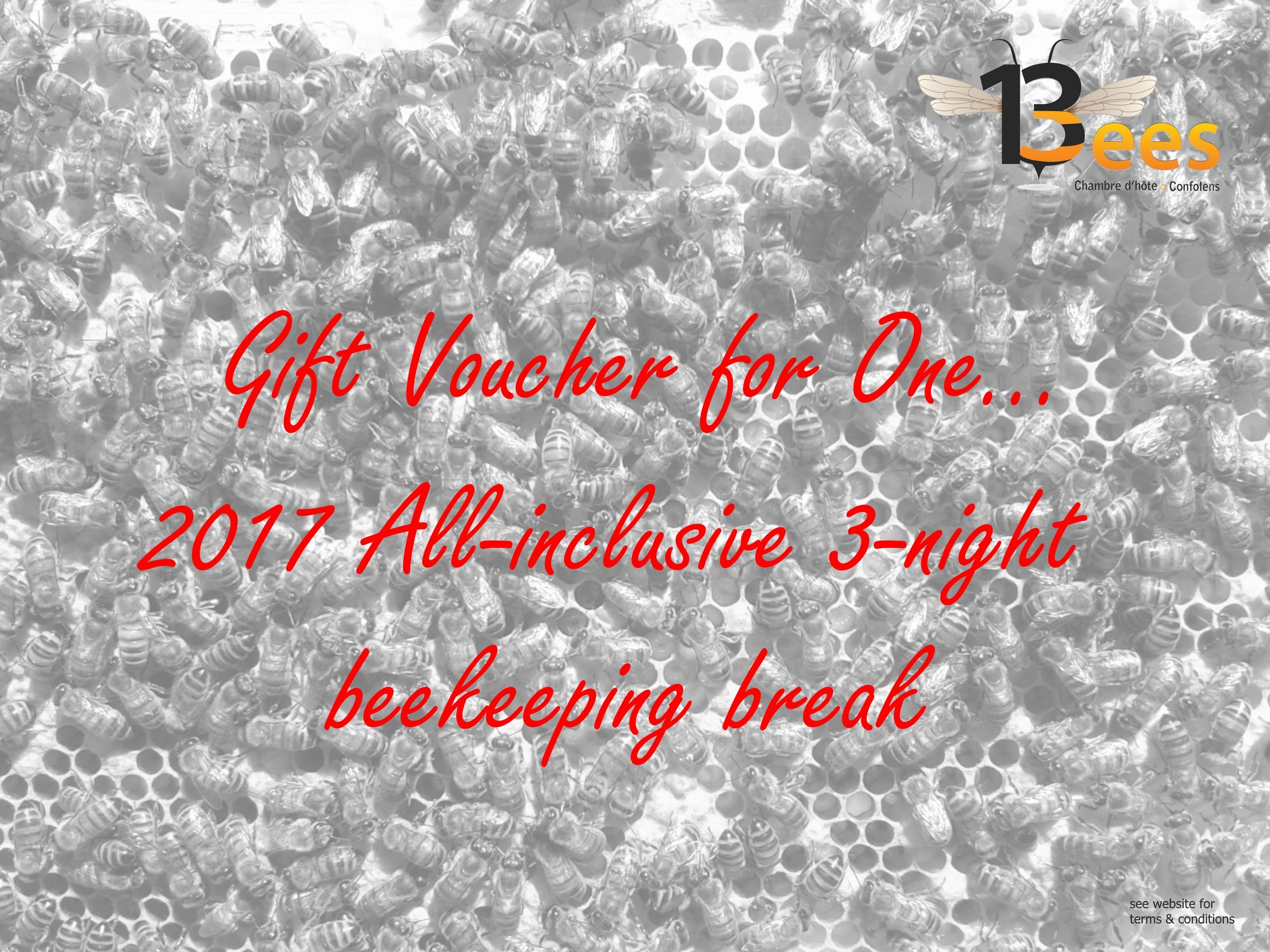 3-night beekeeping break
