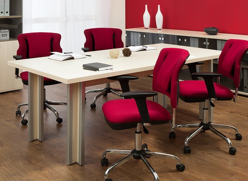 Table and office furniture