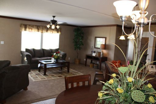 living room in a manufactured home - Milton, FL