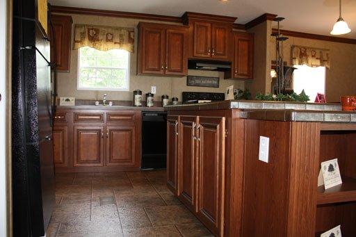 kitchen in a manufactured home - Gulf Breeze, FL