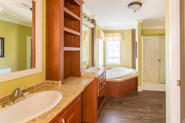 bathroom in a prefabricated home - Milton, FL