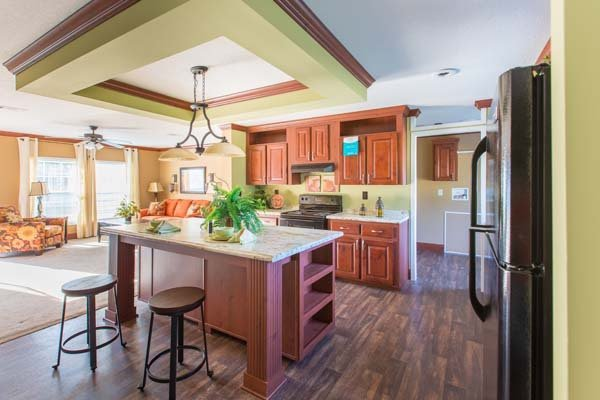 kitchen in a modular home - Fort Walton Beach, FL