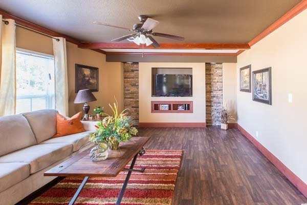 living room in a manufactured home - Pensacola, FL