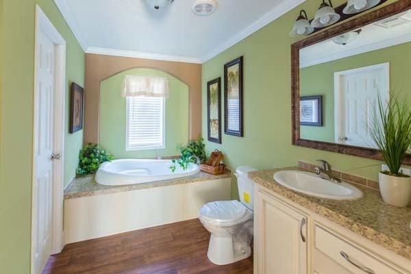 bathroom in a manufactured home - Pensacola, FL