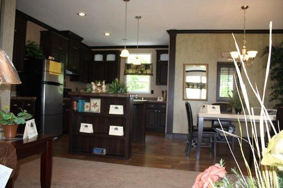 kitchen in modular home - Pensacola, FL