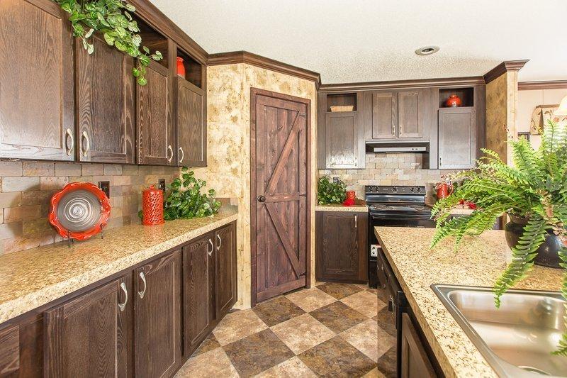 kitchen in prefabricated home - Gulf Breeze, FL
