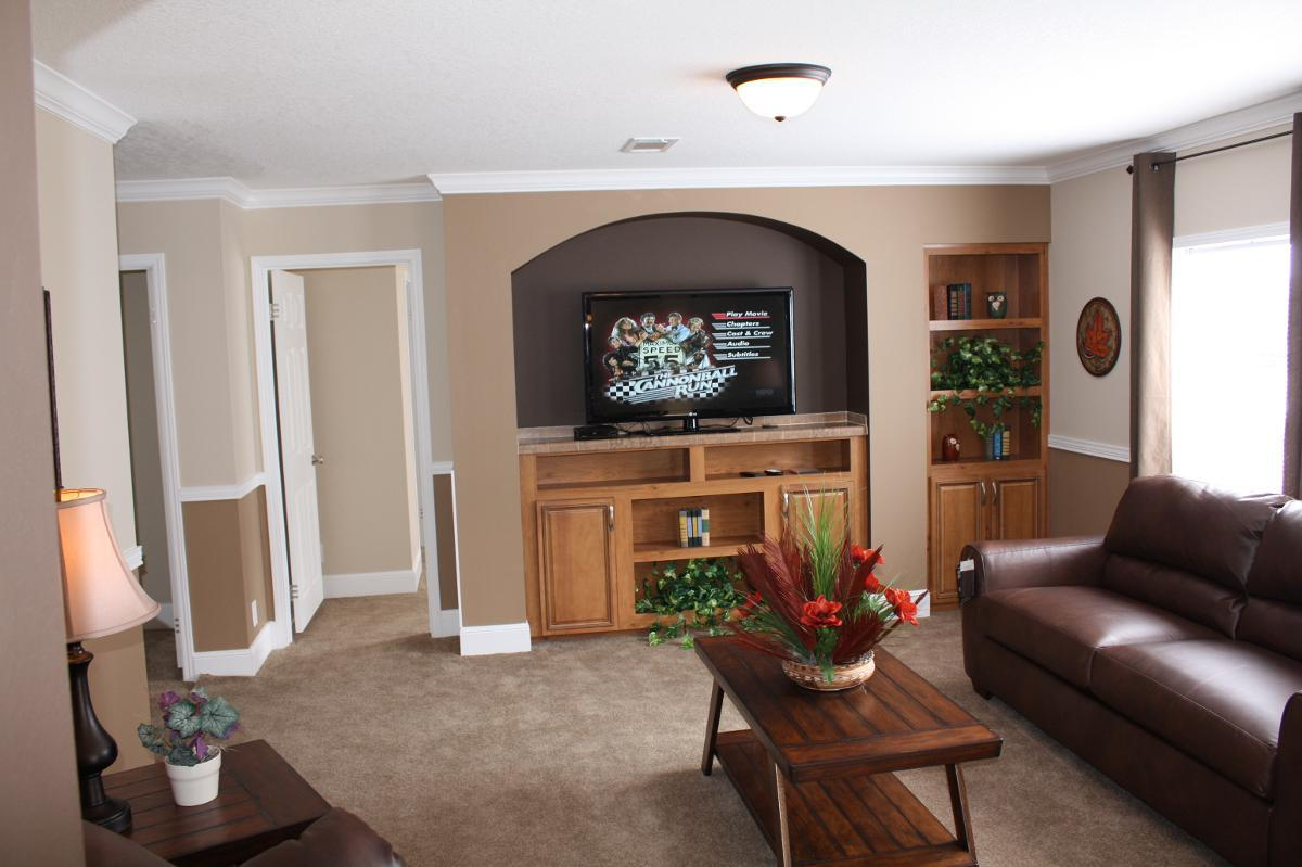 living room in a manufactured home - Fort Walton Beach, FL