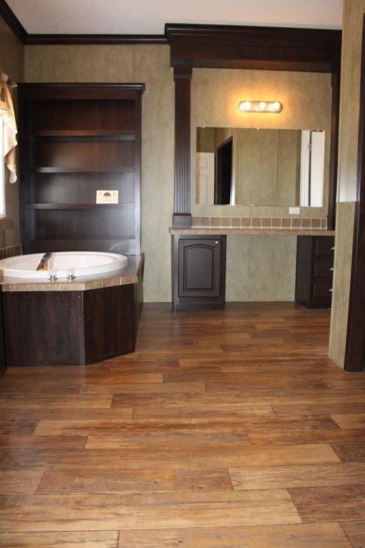 bathroom in a modular home - Pensacola, FL