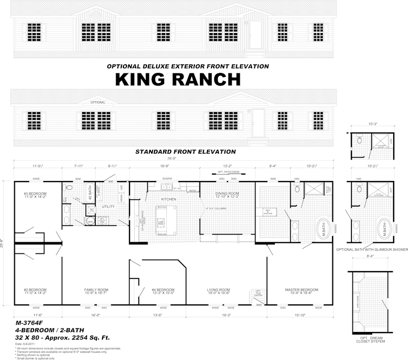 Ranch house floor plans Wayne homes floor plans