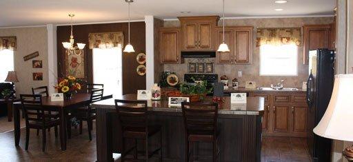 kitchen in a modular home - Pensacola, FL