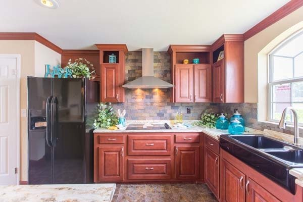 kitchen in a mobile home - Pensacola, FL
