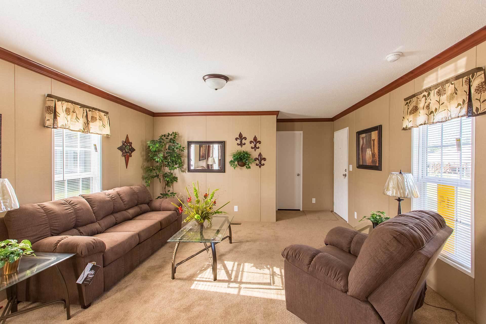 living room in a modular home - Pensacola, FL