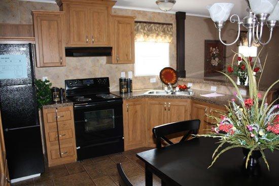 kitchen in manufactured home - Milton, FL