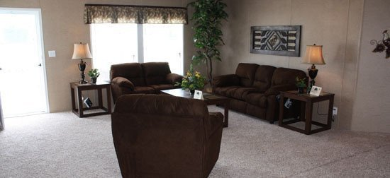 living room in manufactured home - Gulf Breeze, FL
