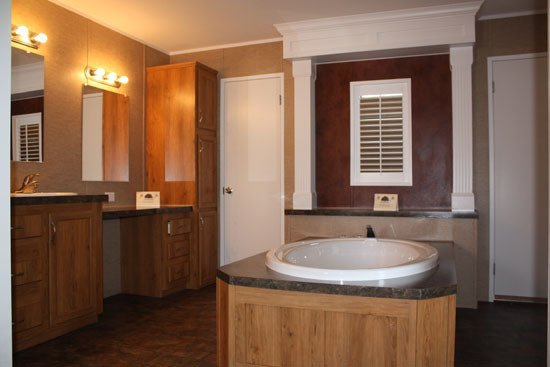 bathroom in manufactured modular home - Milton, FL