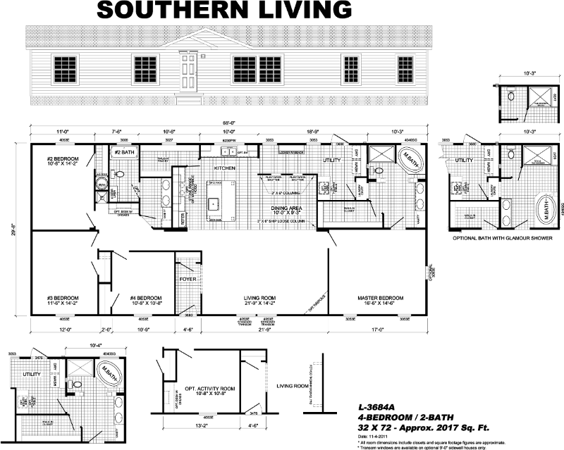 southern living manufactured home - Fort Walton Beach, FL