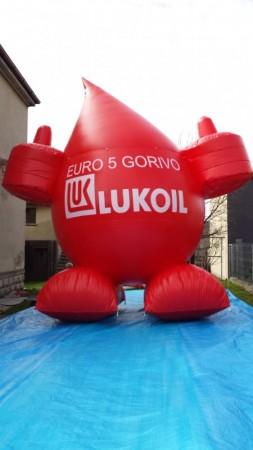 Napihljivi izdelki po naročilu - Lukoil maskota