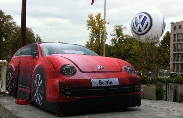 Napihljivi izdelki po naročilu - VW Beetle