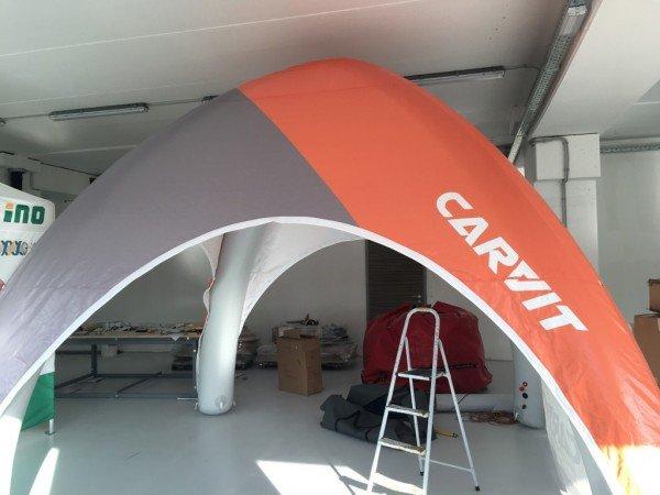 Trajno napihljiv šotor Carvit