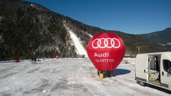 Napihljivi izdelki po naročilu - Audi