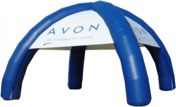 Napihljiv reklamni šotor AVON