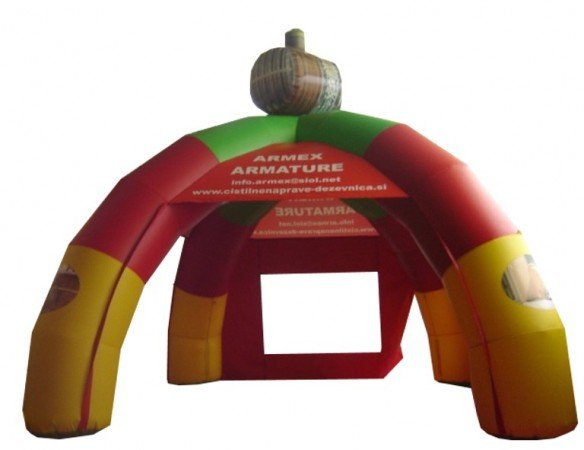 Napihljiv reklamni šotor Armex
