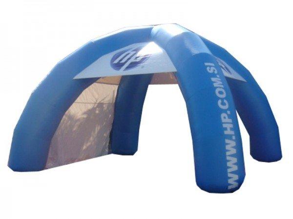 Napihljiv reklamni šotor HP