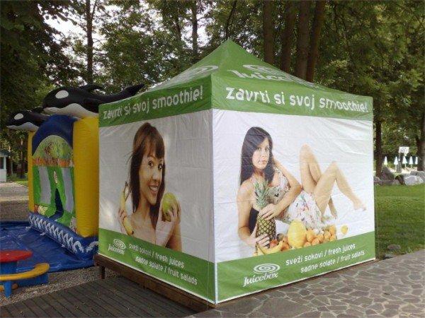 Zložljiv šotor Juicebox