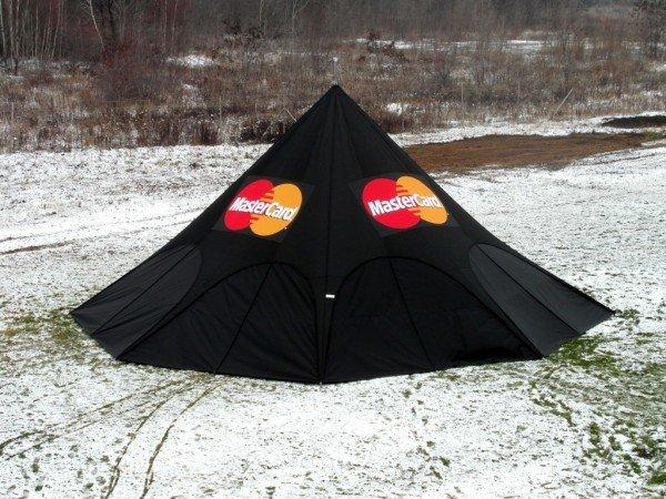 Zložljiv zvezdasti šotor Mastercard