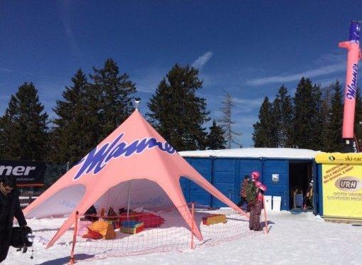 Zložljiv zvezdasti šotor Manner