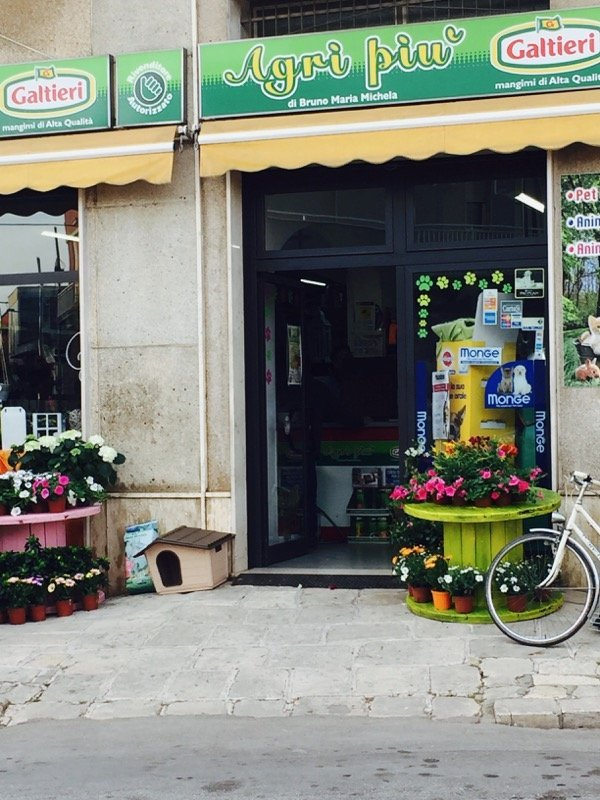 entrata negozio AGRI PIU
