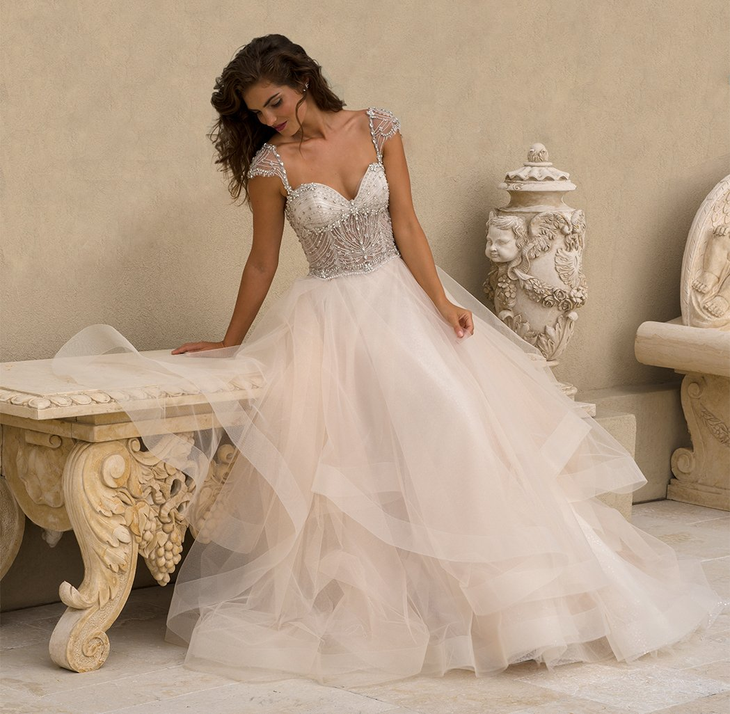 Exclusive wedding gowns that are uniquely beautiful exclusive bridal gown image ombrellifo Images