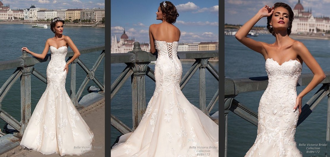 Bella Victoria Bridal Wedding Gown BVBN172