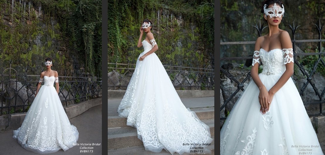 Bella Victoria Bridal Wedding Gown BVBN173