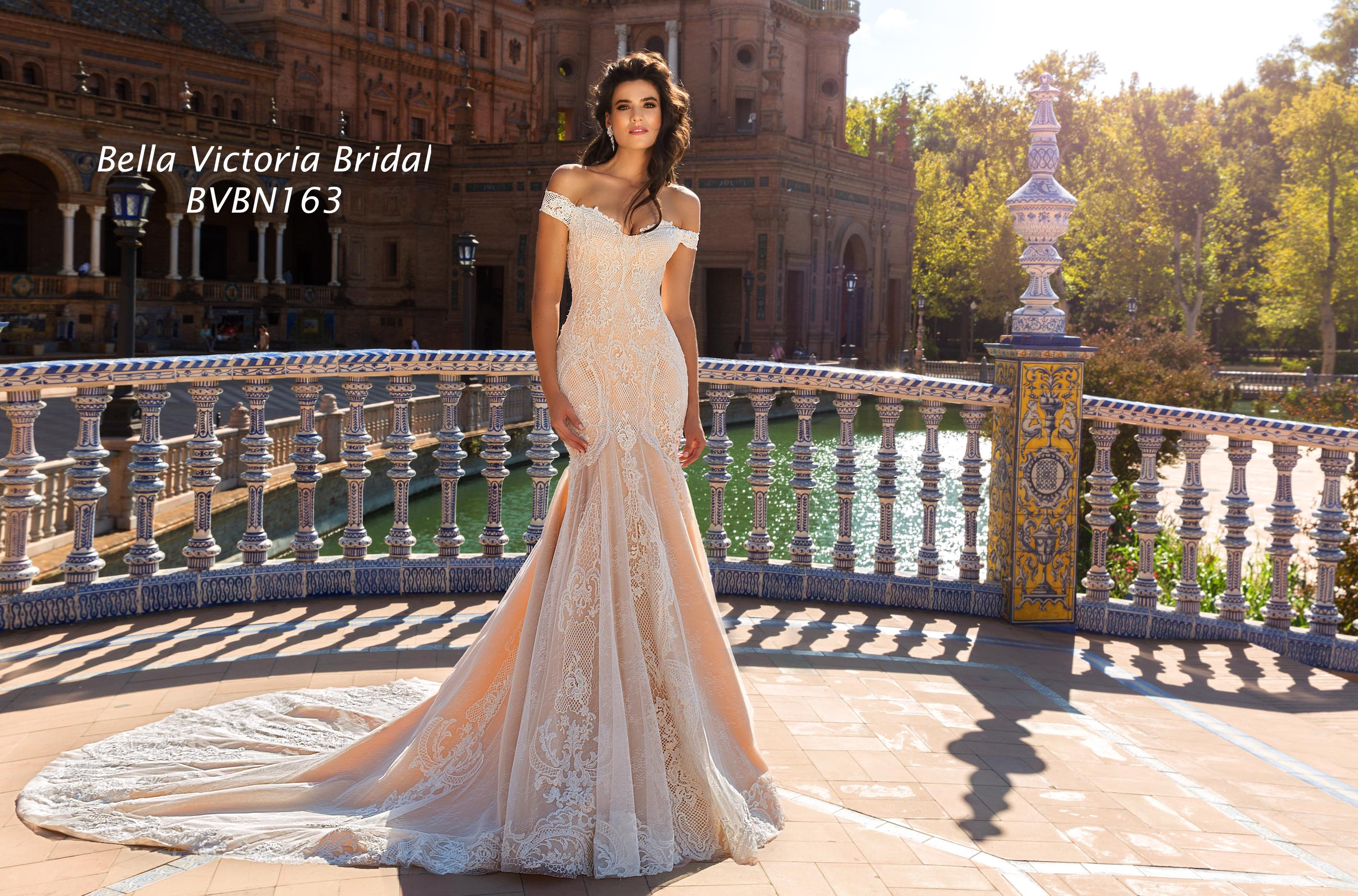 Bella Victoria Bridal Wedding Gown BVN163