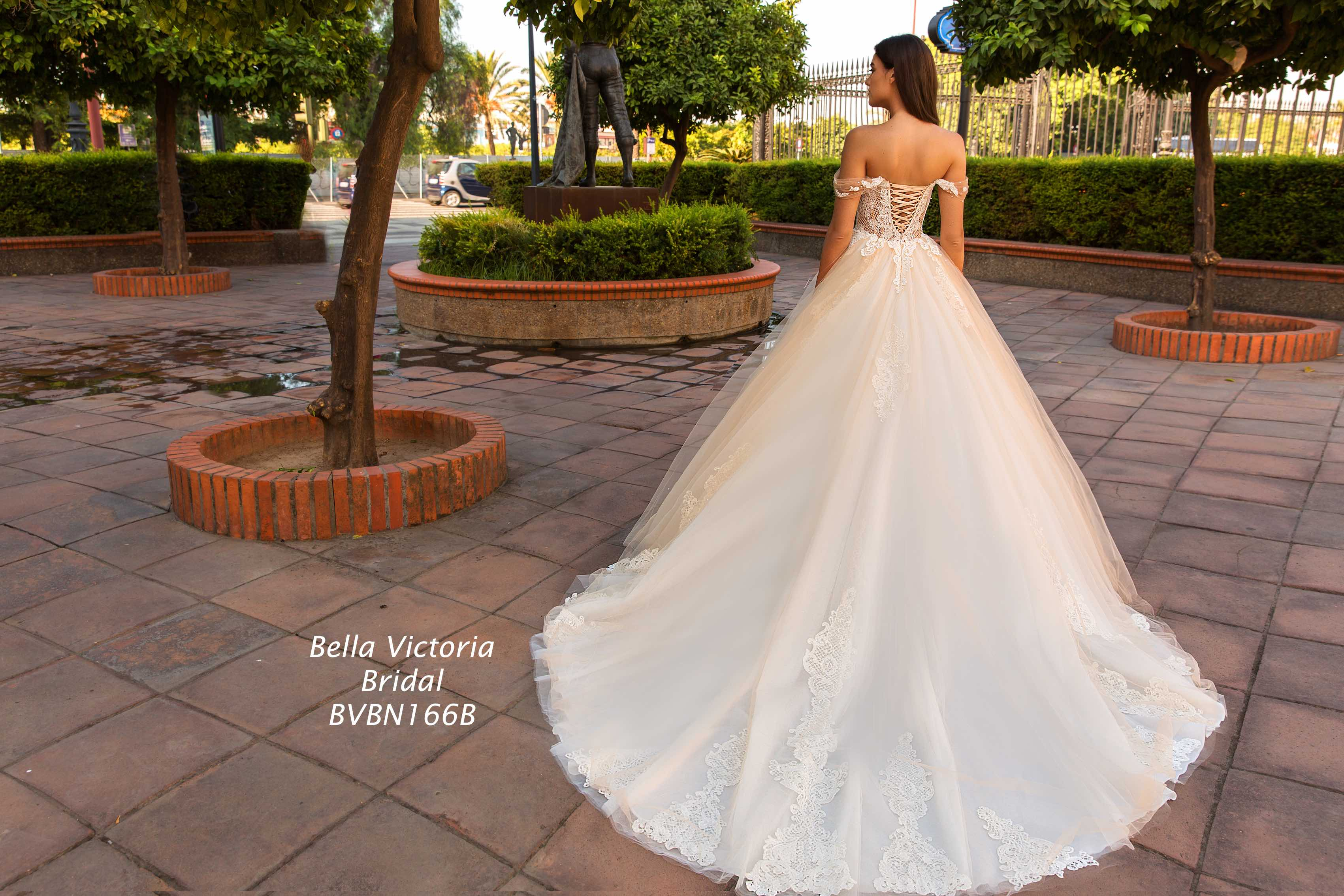 Bella Victoria Bridal Wedding Gown BVN166