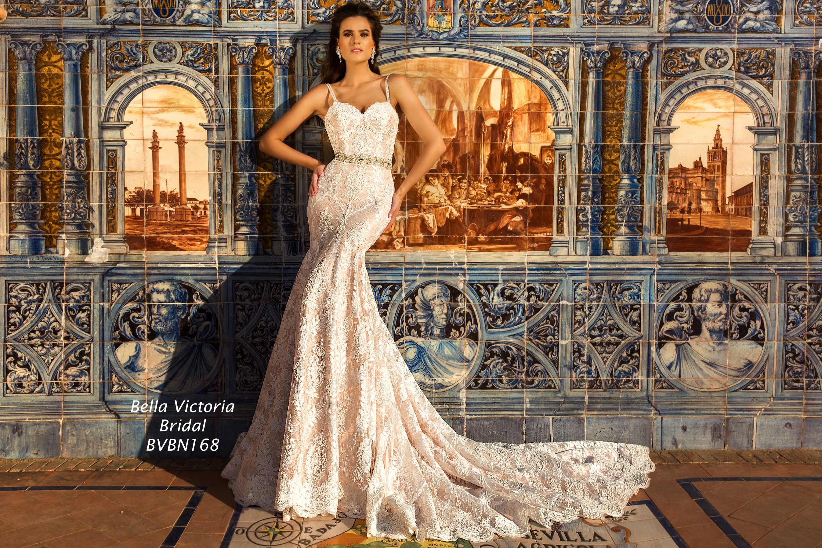 Bella Victoria Bridal Wedding Gown BVN168