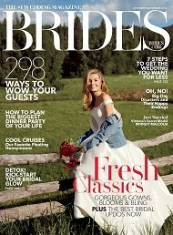 Eve of Milady Gowns Features in Brides Magazine