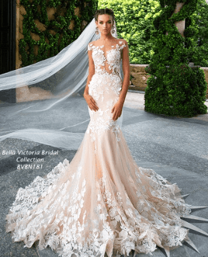 Modern Bridal Gown Image