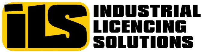 industrial licencing solutions business logo