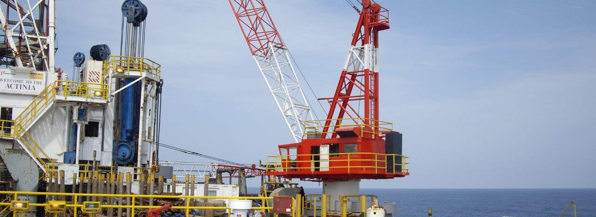 industrial licencing solutions off shore oil rig