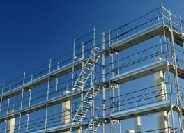 industrial licencing solutions scafffolding sky background