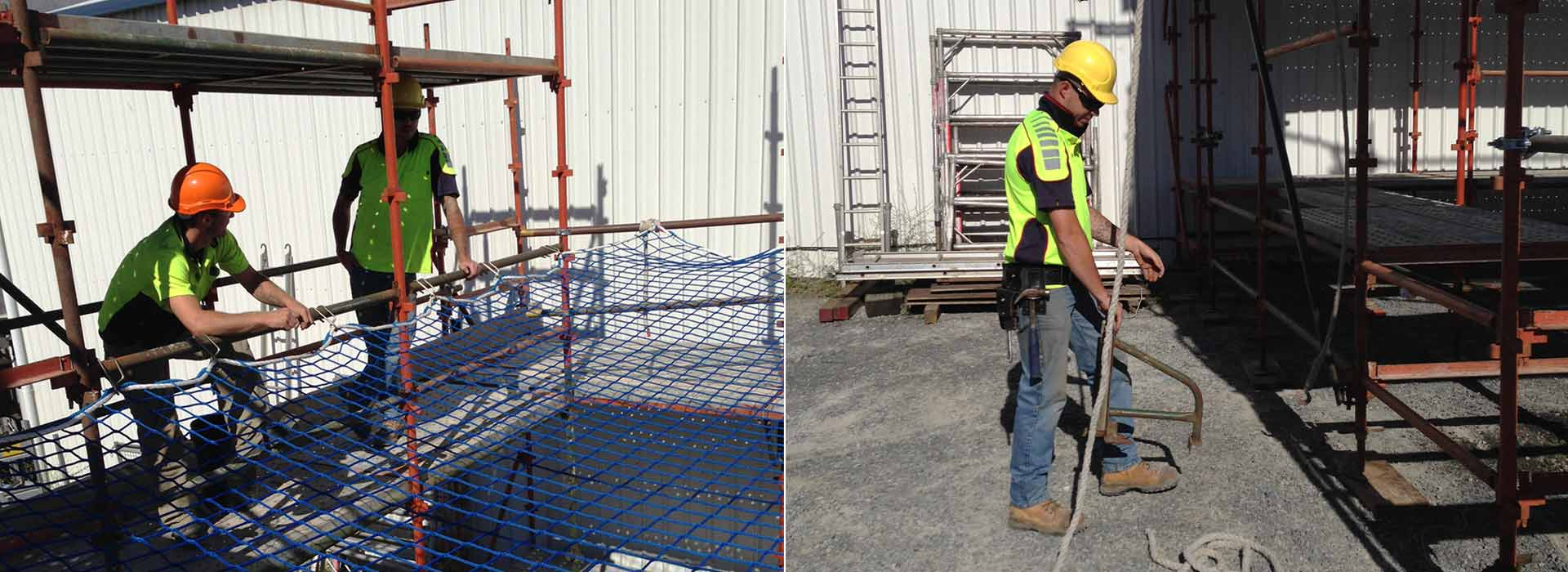 industrial licencing solutions scaffolding workers safety nets